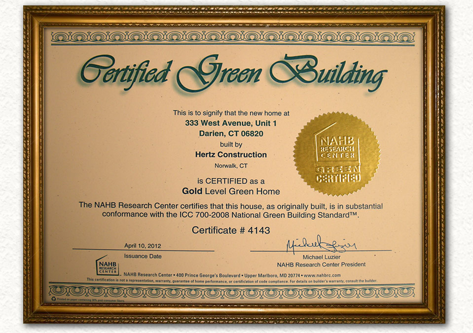 Certified Green Building